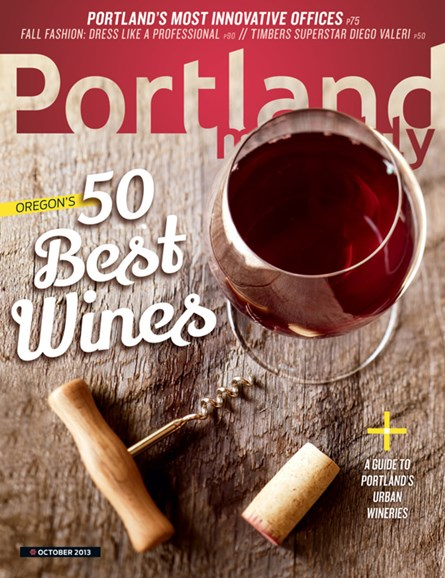 Portland Monthly Cover - 10/1/2013