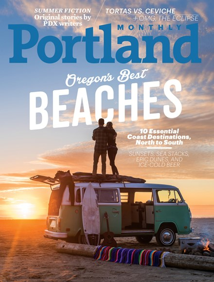 Portland Monthly Cover - 8/1/2017