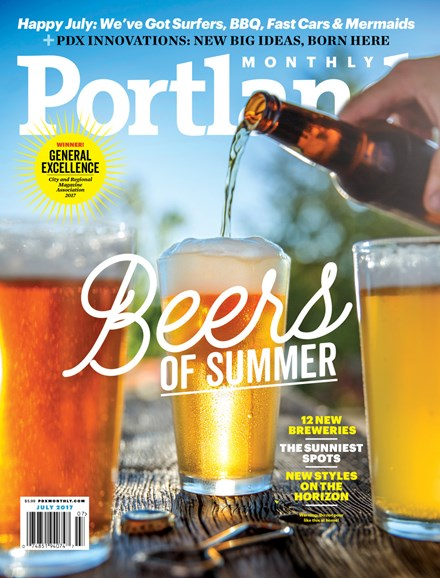 Portland Monthly Cover - 7/1/2017