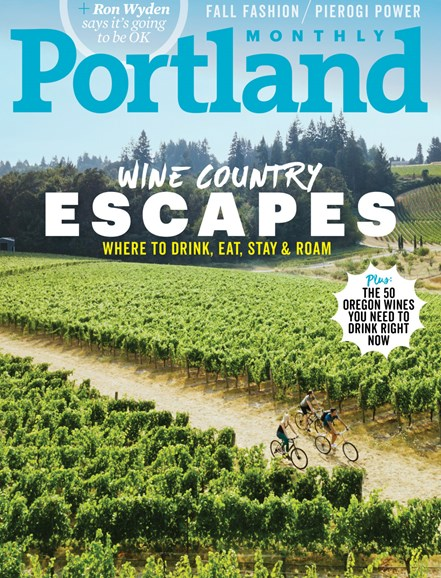 Portland Monthly Cover - 10/1/2017
