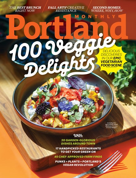Portland Monthly Cover - 9/1/2017