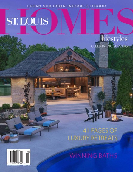 St. Louis Homes & Lifestyles Cover - 8/1/2016