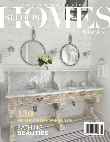 St. Louis Homes & Lifestyles Cover - 8/1/2017