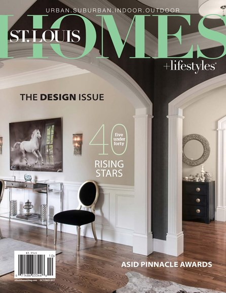 St. Louis Homes & Lifestyles Cover - 10/1/2017