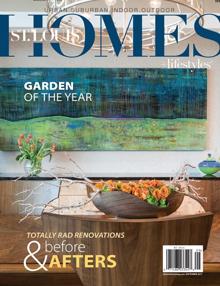 St. Louis Homes & Lifestyles Cover - 9/1/2017