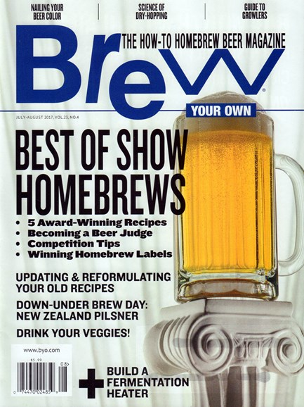 Brew Your Own Cover - 7/1/2017