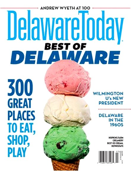 Delaware Today Cover - 8/1/2017