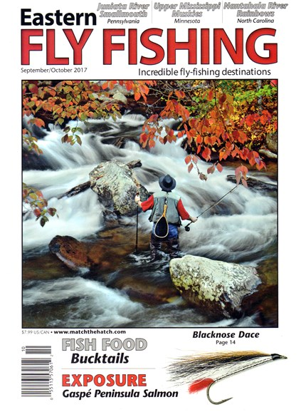Eastern Fly Fishing Cover - 9/1/2017