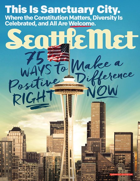 Seattle Met Cover - 2/1/2017