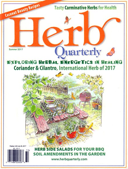 Herb Quarterly Cover - 6/1/2017