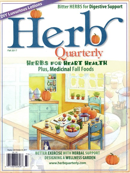 Herb Quarterly Cover - 9/1/2017