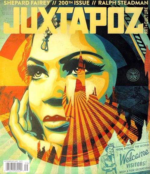 Juxtapoz Cover - 9/1/2017