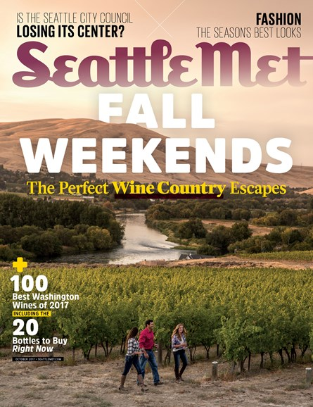 Seattle Met Cover - 10/1/2017
