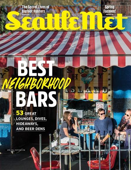 Seattle Met Cover - 4/1/2016
