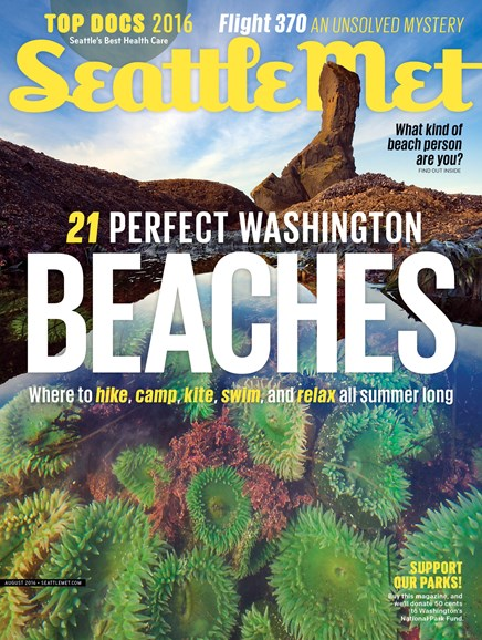 Seattle Met Cover - 8/1/2016