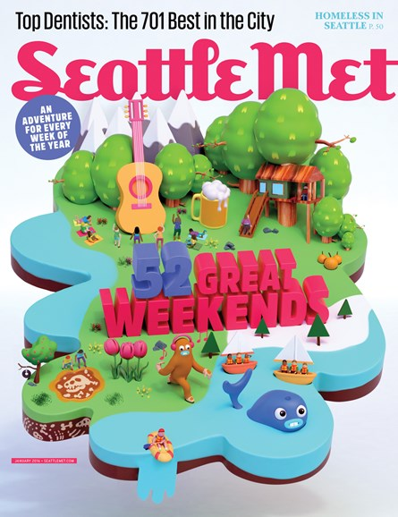 Seattle Met Cover - 1/1/2016