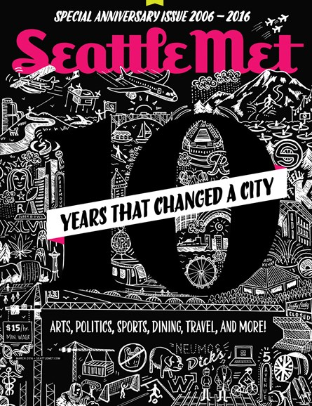 Seattle Met Cover - 3/1/2016