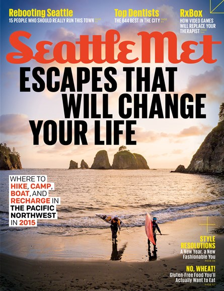 Seattle Met Cover - 1/1/2015