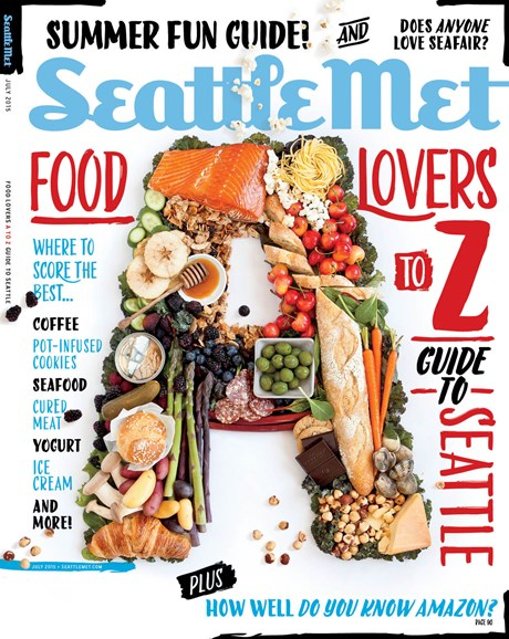 Seattle Met Cover - 7/1/2015