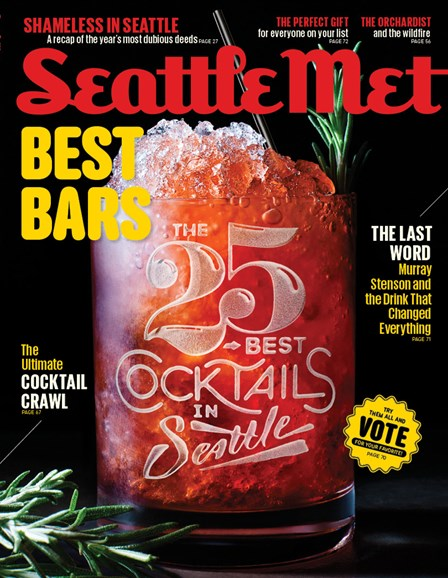 Seattle Met Cover - 12/1/2014
