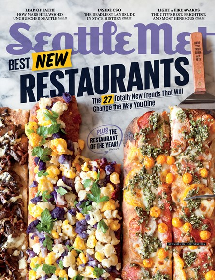 Seattle Met Cover - 11/1/2014