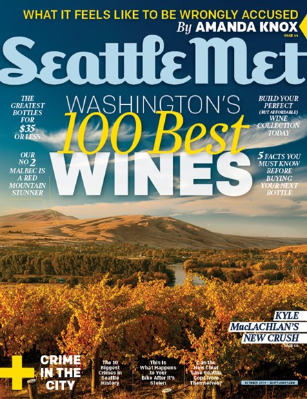 Seattle Met Cover - 10/1/2014