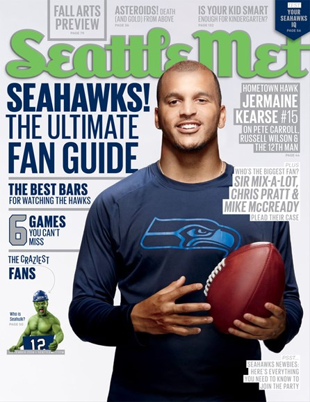 Seattle Met Cover - 9/1/2014
