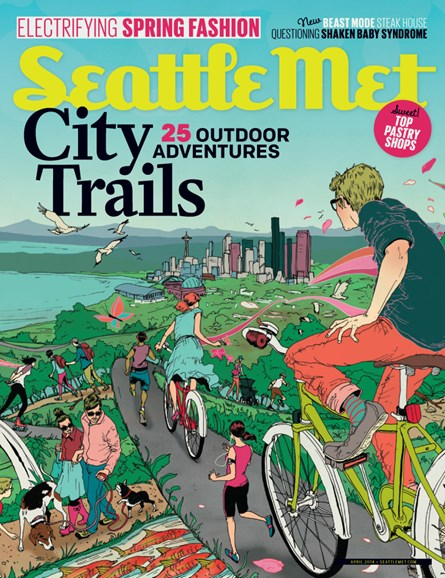 Seattle Met Cover - 4/1/2014