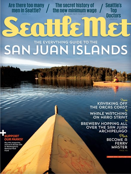 Seattle Met Cover - 8/1/2014