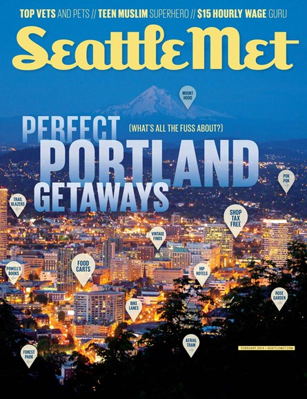 Seattle Met Cover - 2/1/2014