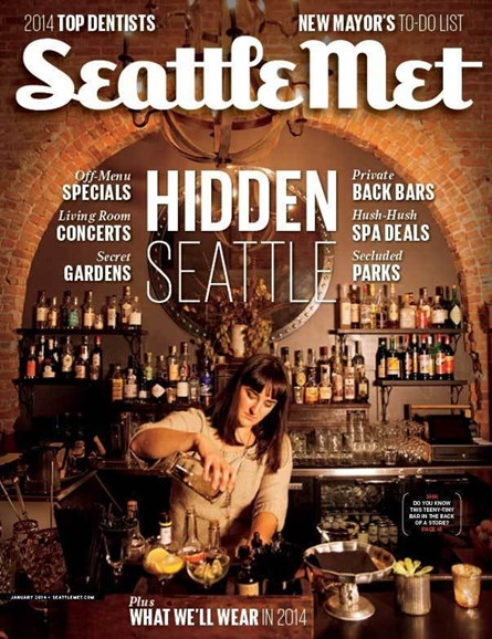 Seattle Met Cover - 1/1/2014
