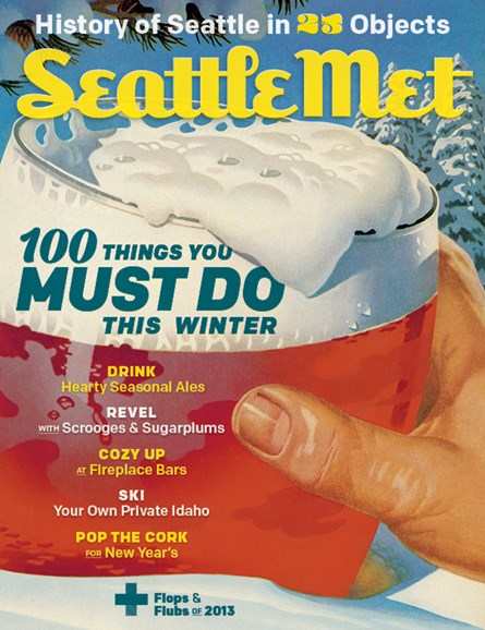 Seattle Met Cover - 12/1/2013