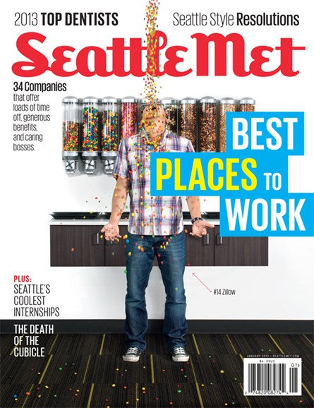 Seattle Met Cover - 1/1/2013