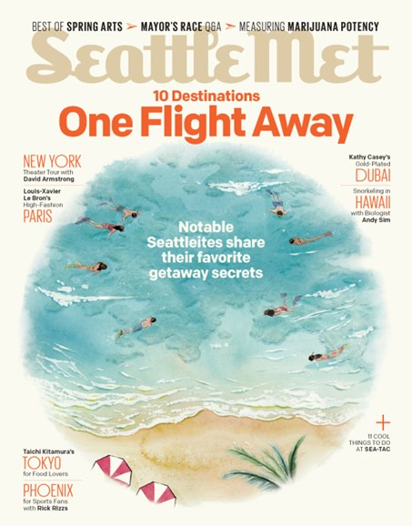 Seattle Met Cover - 3/1/2013