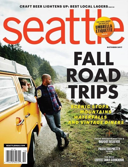 Seattle Magazine Cover - 10/1/2017