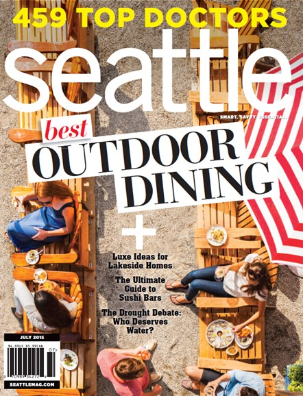 Seattle Magazine Cover - 7/1/2015
