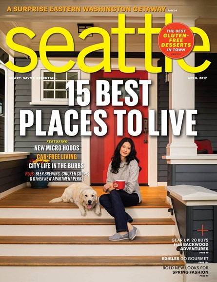 Seattle Magazine Cover - 4/1/2017