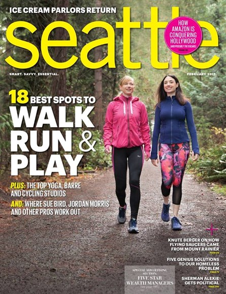 Seattle Magazine Cover - 2/1/2017