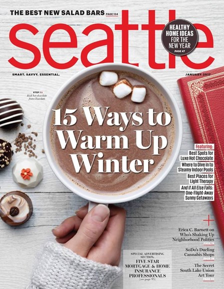Seattle Magazine Cover - 1/1/2017