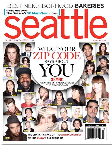 Seattle Magazine Cover - 3/1/2014
