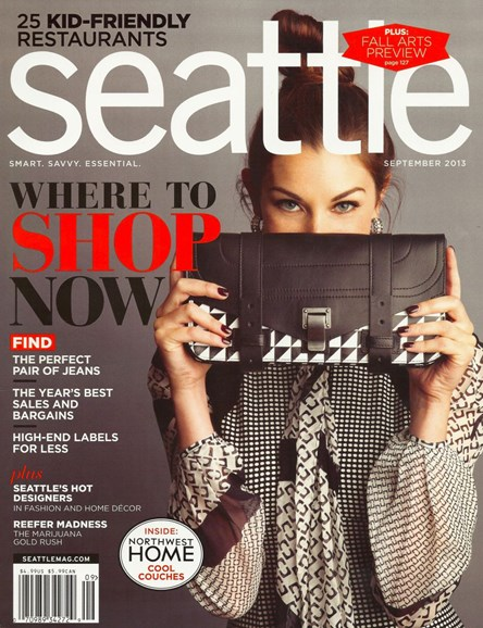 Seattle Magazine Cover - 9/1/2013