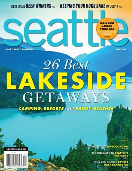 Seattle Magazine Cover - 7/1/2017