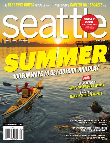 Seattle Magazine Cover - 6/1/2017