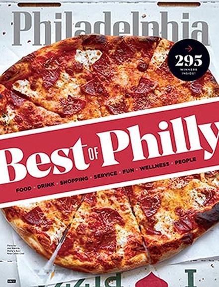 Philadelphia Magazine Cover - 8/1/2017