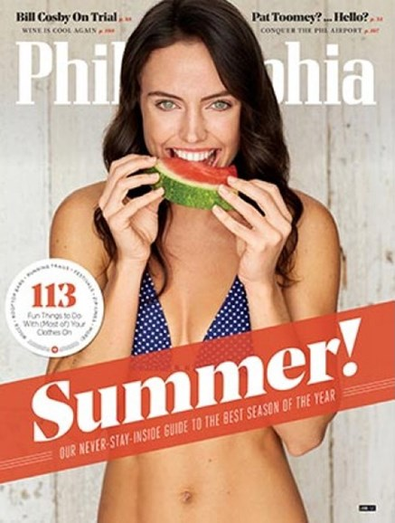 Philadelphia Magazine Cover - 6/1/2017