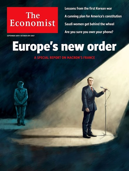 The Economist Cover - 9/30/2017