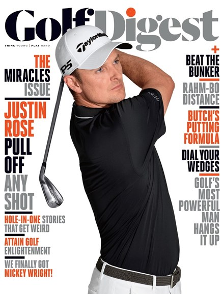 Golf Digest Cover - 10/1/2017
