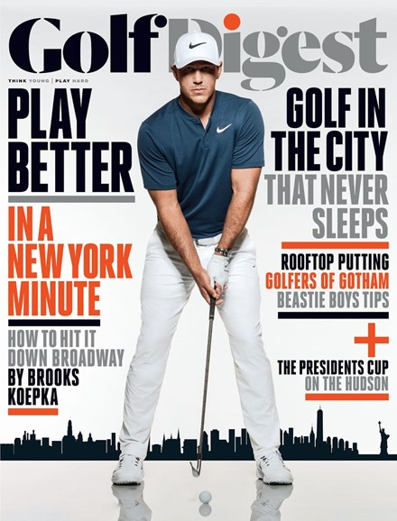 Golf Digest Cover - 9/1/2017