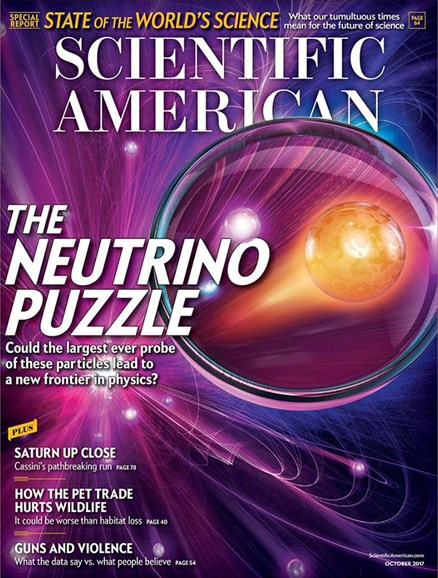 Scientific American Cover - 10/1/2017