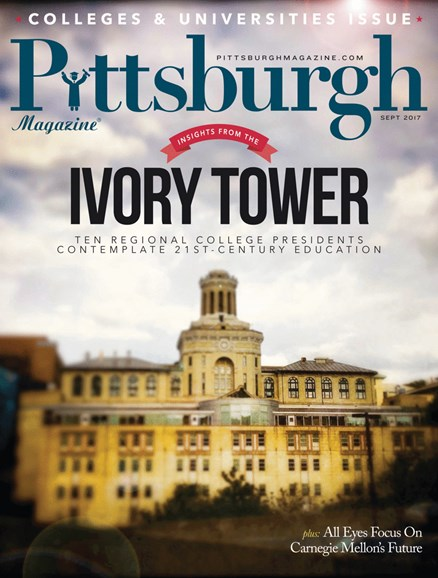 Pittsburgh Magazine Cover - 9/1/2017